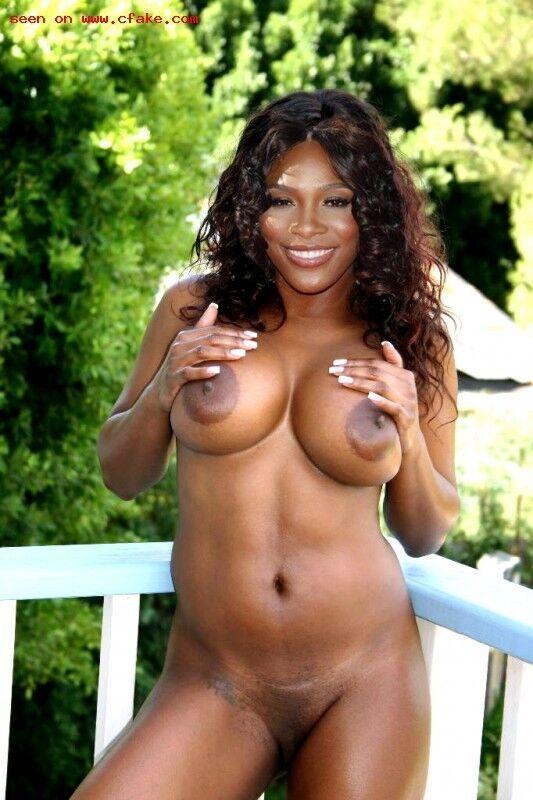 Serena williams tits